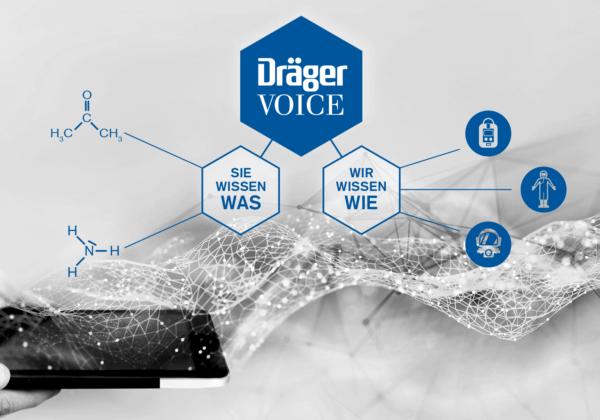 Gefahrstoffe und passenden Schutz finden über Online-Datenbank Dräger VOICE