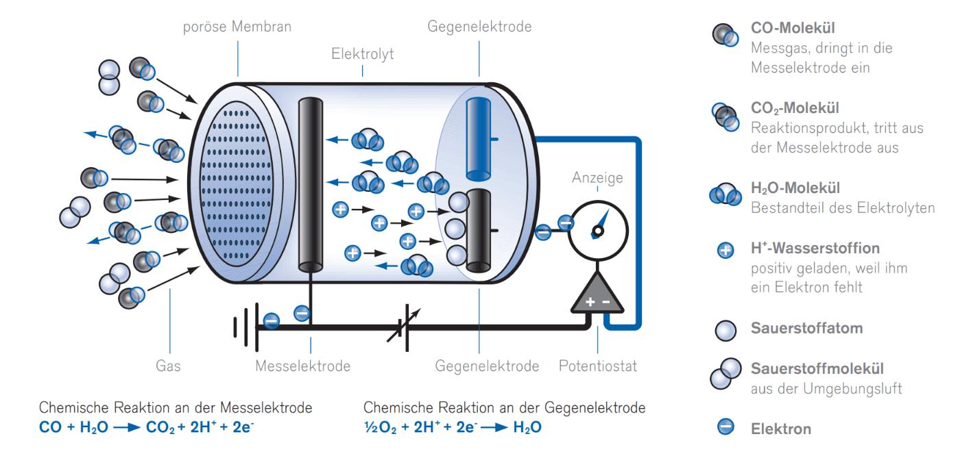 Erklärdiagramm: Wie der Sensor schnüffelt